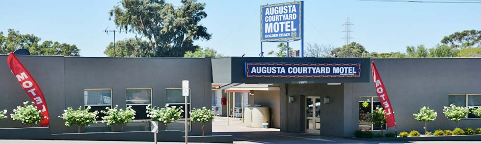 Augusta Courtyard Motel is on the main highway in Port Augusta