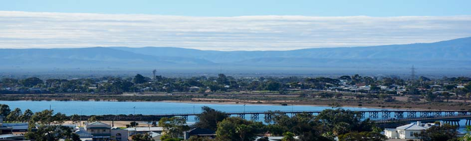 Port Augusta offers all the conveniences and facilities expected from a modern city
